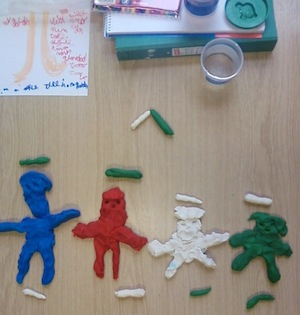 Working with Play-Dough